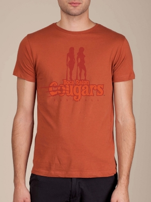 Boca Raton Cougars Rust Orange Funny T-shirt