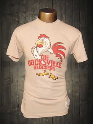 Cocksville Blockers Silver Funny T-shirt