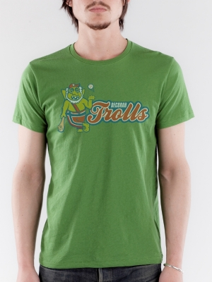 Decorah Trolls Earth Green Super Soft T-shirt
