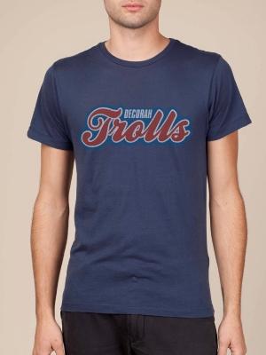 Decorah Trolls Atlernate Navy Blue Cool T-shirt