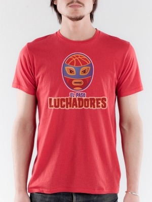 El Paso Luchadores Earth Red Super Soft T-shirt