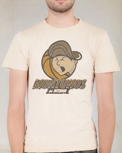 Montunos Del Interior Cream Cool T-shirt