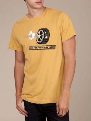 Akron Rubbers Mustard Super Soft T-shirt