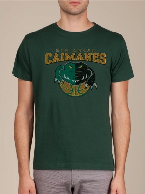 Caimanes de Rio Abajo Forest Green Cool T-shirt
