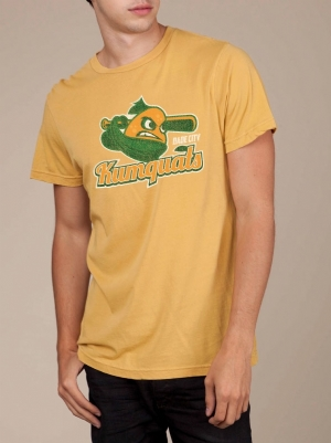 Dade City Kumquats Mustard Super Soft T-shirt