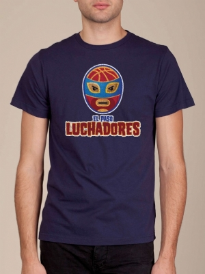 El Paso Luchadores Midnight Blue Super Soft T-shirt