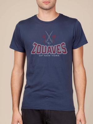 New York Zouaves Alternate Navy Blue Cool T-shirt
