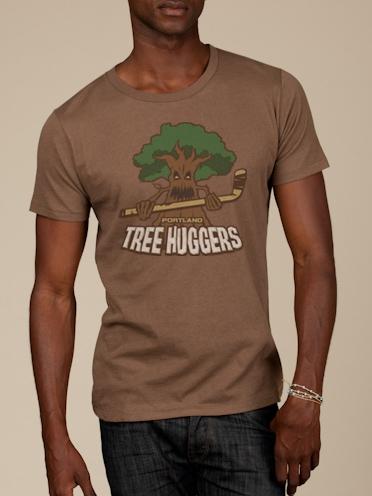 Portland Tree Huggers Funny T-shirts