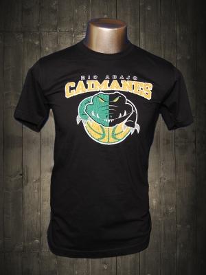 Caimanes de Rio Abajo Black Cool T-shirt