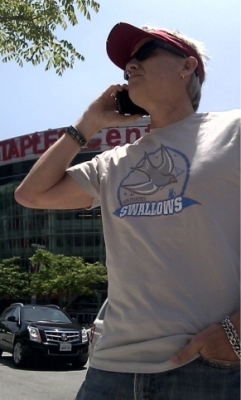san francisco swallows kenny sargent awesome t-shirt