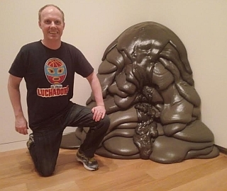 Acrylic Foam Sculpture at the Modern Museum of Art in Fort Worth
