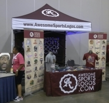 Awesome Sports Logos tshirt setup