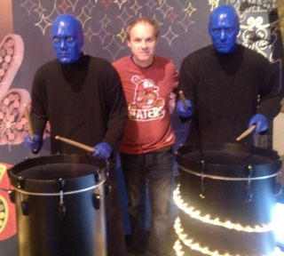 Blue Man Group Idaho Taters awesome t-shirt