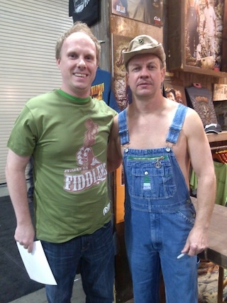 Tim from Bootleggers Awesome t-shirt picture
