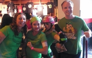 Houston Roller Derby Bootleggers awesome tshirt