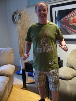 Climax Fiddlers awesome t-shirt sports logo