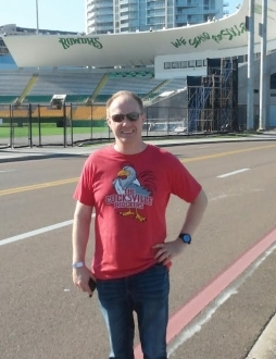 Cocksville Blockers Picture at Tampa Bay Rowdies stadium