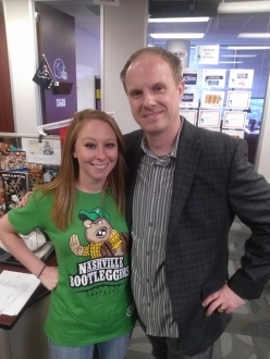 Nashville Bootleggers awesome t-shirt on Erin