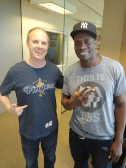 Godfrey and the Middleton Fingers awesome t-shirt