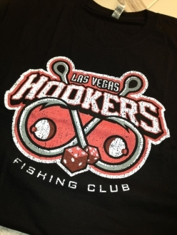 Las Vegas Hookers awesome sports logos tshirt