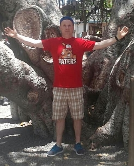 The Idaho Taters Potato Baseball T-shirt