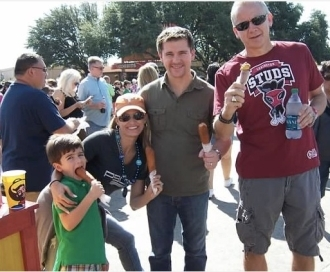 lexington studs funny t-shirt