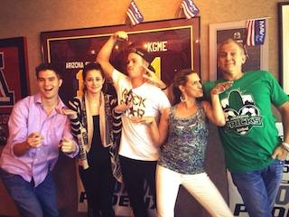 Dylan Kwasniewski with the SpeedFreaks