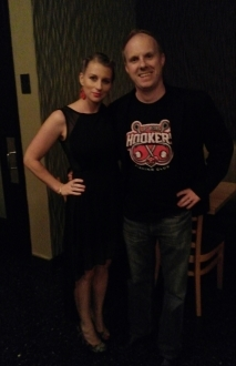 Las Vegas Hookers T-shirt with the wife