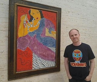 Matisse Asia Picture at the Kimbell Museum