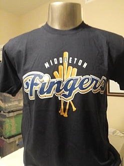 Middle Fingers Awesome T-shirt