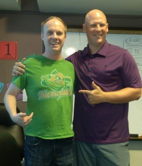 Mike Bacsik awesome tshirt