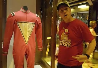 Mork from Mork and Mindy suit