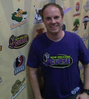 New Orleans Curse Awesome t-shirt