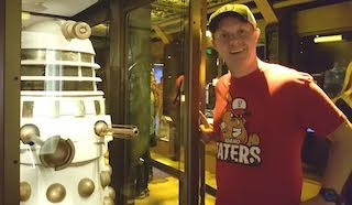 Idaho Taters with Doctor Who's Dalek