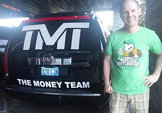 Team Money Bootleggers t-shirt
