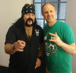 Vinnie Paul Picture with the Arizona Pricks